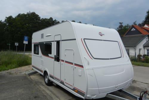 Wohnmobil mieten in Eberswalde von privat | Bürstner Wohnwagen