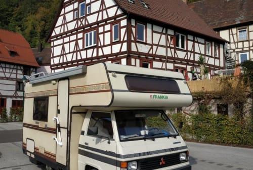 Wohnmobil mieten in Dortmund von privat | Mitsubishi L300 - Oldtimer