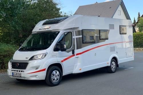 Wohnmobil mieten in Wiesbaden von privat | Fiat Tonic