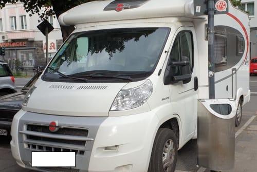 Wohnmobil mieten in Köln von privat | Bürstner  Womo