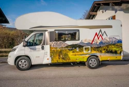 Wohnmobil mieten in Mittenwald von privat | Carado  Carado A 361