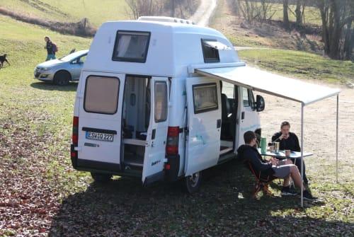 Wohnmobil mieten in Wanfried von privat   Fiat Ilvy Allrad