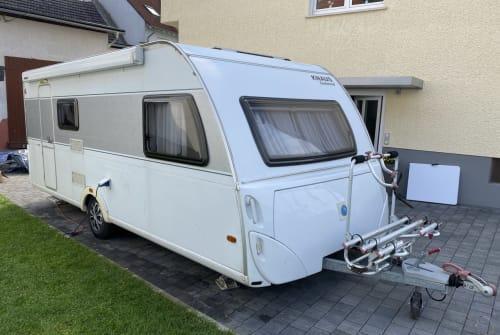 Wohnmobil mieten in Pohlheim von privat   Knaus QSK 550