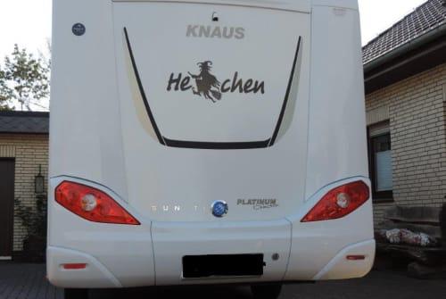 Wohnmobil mieten in Thedinghausen von privat | Knaus Hexchen