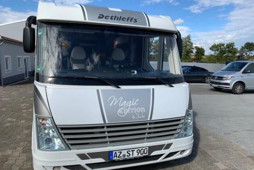 Wohnmobil mieten in Usingen von privat | Dethleffs Magic White