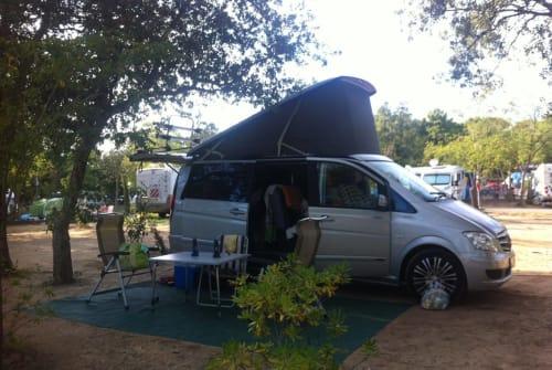 Wohnmobil mieten in Leipzig von privat | Mercedes Benz Bu