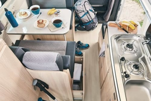 Wohnmobil mieten in Kiel von privat | Ford - Dreamer - Campereve Nele - Komplett
