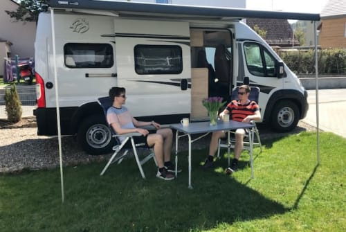Wohnmobil mieten in Sommerhausen von privat | Knaus Boxstar 600