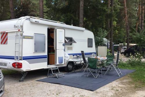 Wohnmobil mieten in Gersfeld von privat   Hobby Familia