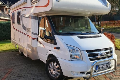 Wohnmobil mieten in Haselünne von privat | Ford Rimor Elmo
