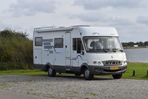 Wohnmobil mieten in Breskens von privat   Hymer Happy home