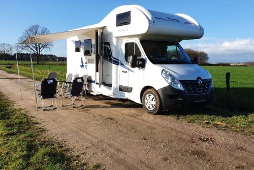 Wohnmobil mieten in Tilburg von privat | Renault Rimor 1-katamarano3