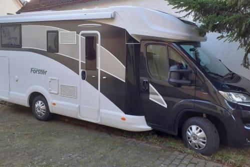 Wohnmobil mieten in Hanau von privat | Forster Forster T741 EB