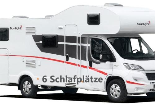 Wohnmobil mieten in Kirchheim am Ries von privat | Sunlight Suni