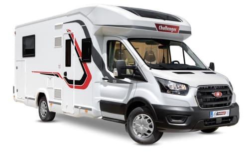 Wohnmobil mieten in Herford von privat | Challenger Challenger 264