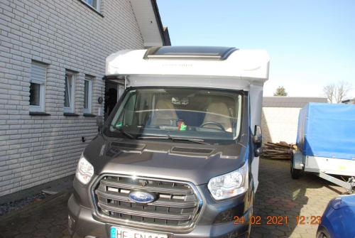 Wohnmobil mieten in Hiddenhausen von privat | Ford Transit Grisu