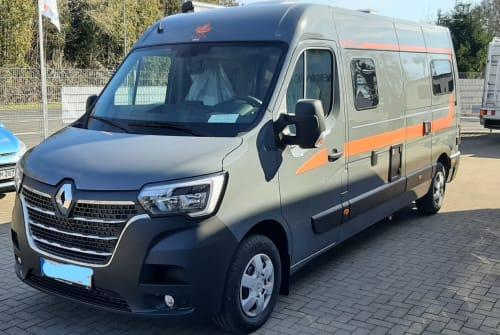 Wohnmobil mieten in Gründau von privat | Renault Master Bhörnchen