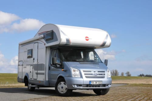 Wohnmobil mieten in Erkner von privat | Bürstner  Travel the road