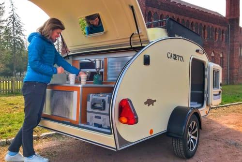 Wohnmobil mieten in Rostock von privat   Caretta 1500 Camper Schildi