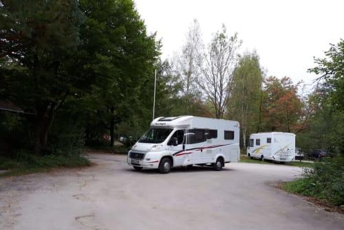 Wohnmobil mieten in Friedberg von privat | Hymer FFB