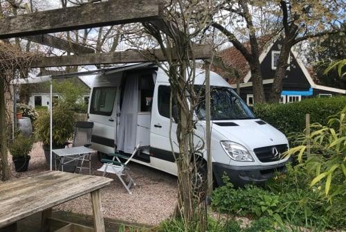 Wohnmobil mieten in Amsterdam von privat   Mercedes Levenskunst-bus