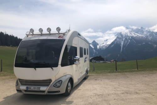Wohnmobil mieten in Bad Reichenhall von privat | Eura Mobil Balu der Bär