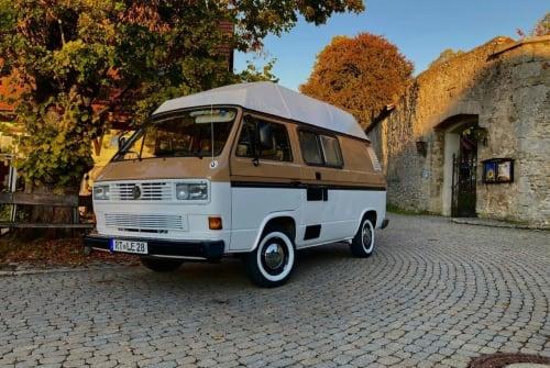 Wohnmobil mieten in Römerstein von privat   VW T3 Lemmy