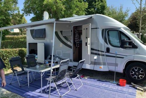 Wohnmobil mieten in Erding von privat   Orange Camp Caravelle