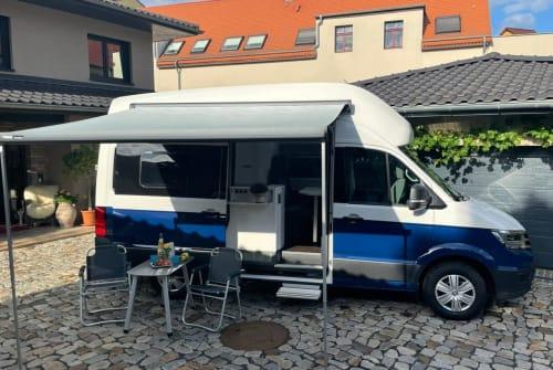 Wohnmobil mieten in Leipzig von privat | VW Harry