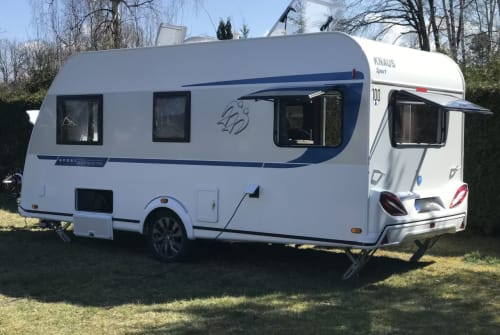 Wohnmobil mieten in Kleinmachnow von privat | Knaus Caravan Knaus