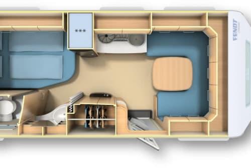 Wohnmobil mieten in Moisburg von privat | Fendt  La Torre