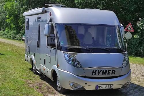 """Wohnmobil mieten in Oldenburg von privat   Hymer Hymer """"Zymbra"""""""