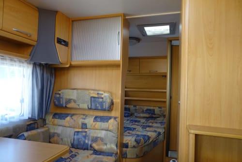 Wohnmobil mieten in Holzheim von privat | Knaus Südwind 400