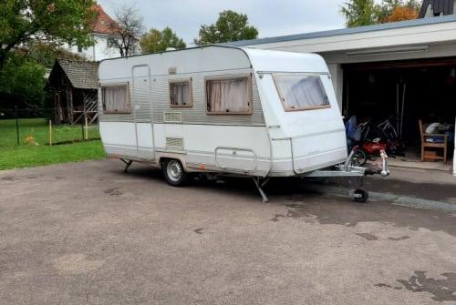 Wohnmobil mieten in Oberboihingen von privat | Dethleffs  Wohnwagen