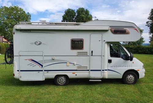 Wohnmobil mieten in Augsburg von privat   Dethleffs JuTo Mobil