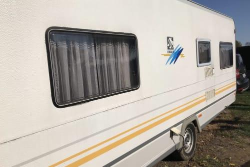 Wohnmobil mieten in Bocholt von privat   Knaus Knausi