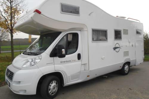 Wohnmobil mieten in Hettstedt von privat | Fiat Ducato Berlusconi
