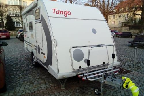 Wohnmobil mieten in Dresden von privat   Knaus Tango 100 km/h