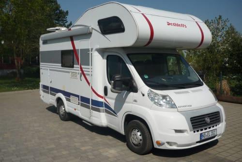 Wohnmobil mieten in Neuburg an der Donau von privat   Detthlefs  Forty´s Camper