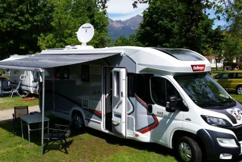 Wohnmobil mieten in Breisach am Rhein von privat | Challenger Balou
