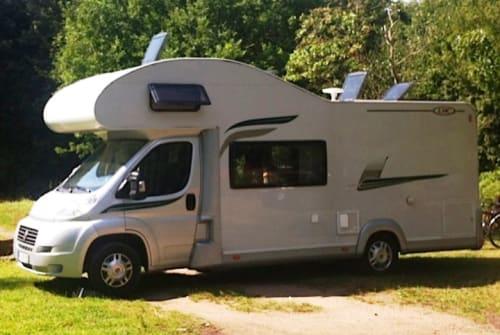 Wohnmobil mieten in Nerja von privat | Fiat CamperGreen