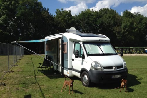 Wohnmobil mieten in Stuttgart von privat | Knaus Pete
