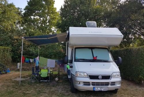 Wohnmobil mieten in Itzehoe von privat | Hobby Gaia