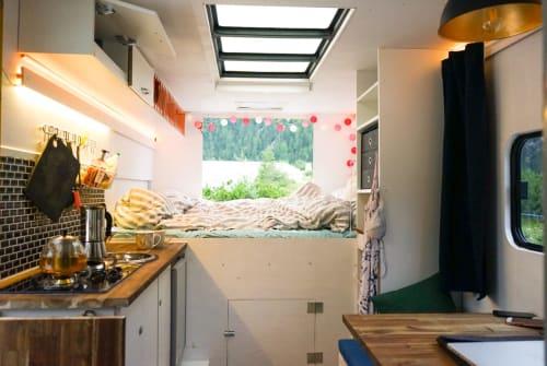 Wohnmobil mieten in Berlin von privat | Mercedes Benz Hermes