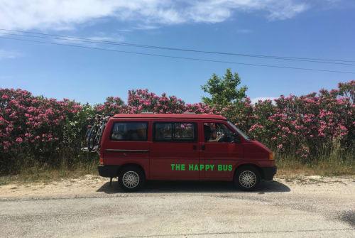 Wohnmobil mieten in München von privat | Volkswagen The Happy Bus
