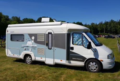 Wohnmobil mieten in Berlin von privat | Fiat Ducato Berl.Reisebox
