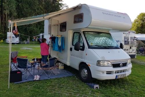 Wohnmobil mieten in Neu-Ulm von privat | Fiat WoMo 3,8t