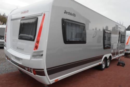 Wohnmobil mieten in Olfen von privat | Dethleffs Familienluxus