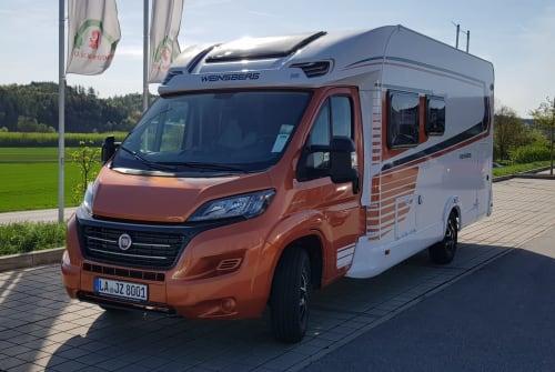 Wohnmobil mieten in Eching von privat | Fiat BOB