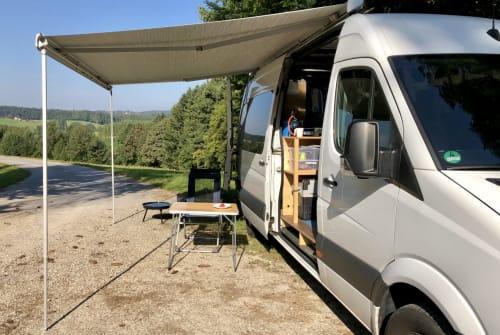 Wohnmobil mieten in Wangen von privat | Mercedes Räuberbus